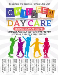 Children Daycare Volante (Carta US) template