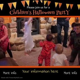Childrens Halloween Party Video