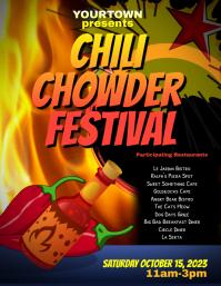 Chili Chowder Fest Event Flyer