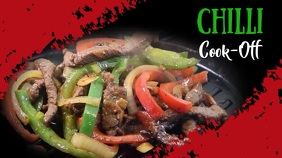 Chilli cook off,event,festival Tampilan Digital (16:9) template