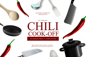 Chili Cook-off Contest Flyer Template