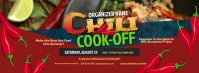 Chili Cook-Off Facebook Cover template