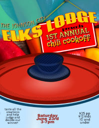 Chili Cook Off Festival flyer template