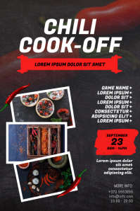 Chili Cook-Off Flyer Template