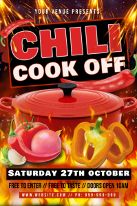 Chili Cook Off Poster