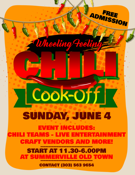 Cook Off Flyers Antaexpocoachingco - Chili cook off flyer template free