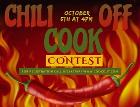 Chili Cook-off Template