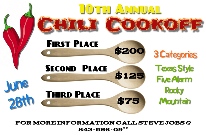 Chili Cookoff Event Flyer