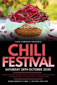 Chili Festival Poster