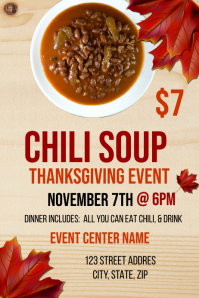 Chili Soup Event Template