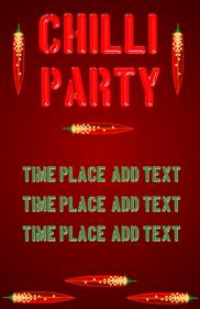 Chilli (chili pepper) party