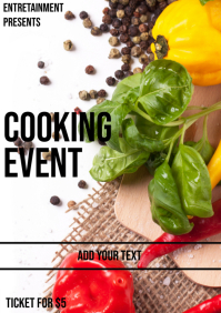 Chilli Cook A4 template