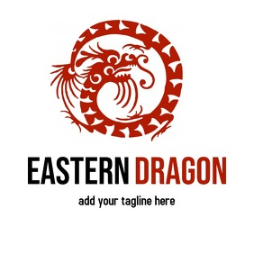 chinese dragon logo