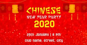 Chinese New Year Sampul Acara Facebook template