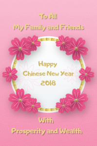 Chinese New Year in Pink