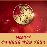 chinese new year template Instagram Post