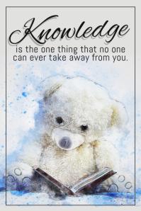 inspirational poster template