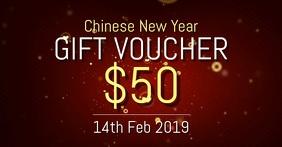 Chinese New year voucher