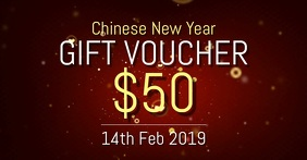 Chinese New year voucher