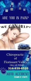 Chiropractic Care Halve pagina Letter template