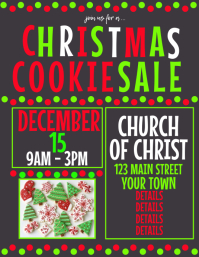 Chirstmas Cookie Sale