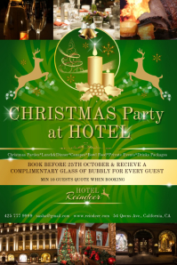 Chistmas hotel green