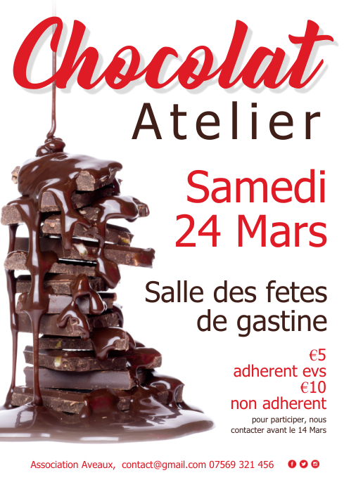 Chocolat atelier affiche