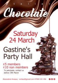 Chocolat atelier event Poster