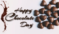 Chocolate Day Cartellino template