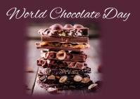 Chocolate day 明信片 template