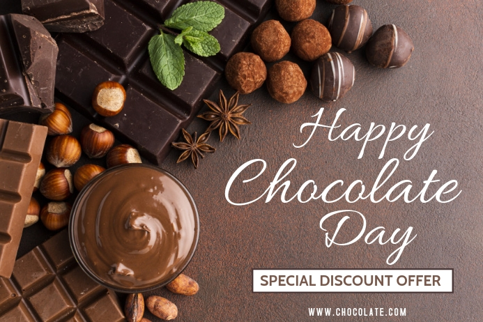 Chocolate Day Template Poster