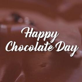 chocolate Instagram Post template