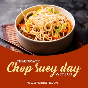 Chop suey day Square (1:1) template