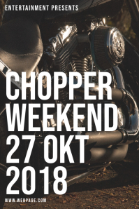 Chopper Event Flyer Template