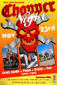 Chopper Night Poster
