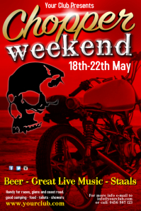 chopper weekend flyer