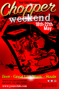 chopper weekend poster