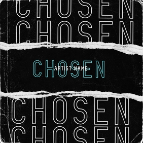 chosen mixtape cover art design template Pochette d'album