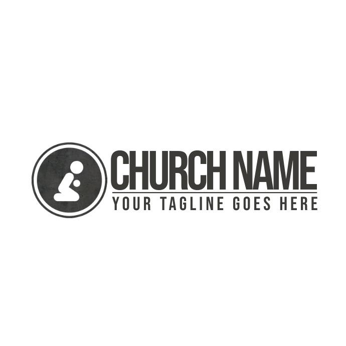 Christian logo, church logo, logo, jesus, template