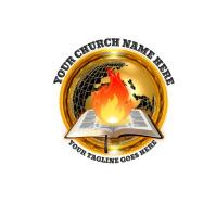 Christian logo, Church logo, ministry logo template