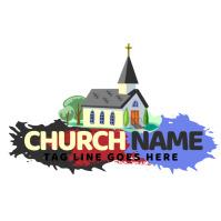 Christian logo template
