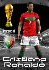 Christiano Ronaldo Poster