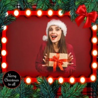 Christmas, Christmas collage, Collage Post Instagram template