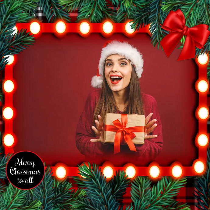 Christmas, Christmas collage, Collage Instagram na Post template