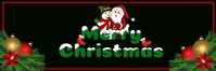 Christmas, header,event E-mail-overskrift template
