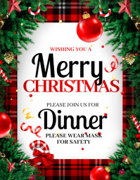 Christmas, Merry Christmas Flyer (US Letter) template