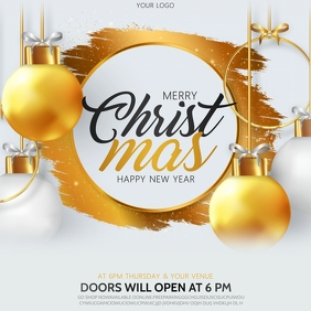 Christmas, New year Isikwele (1:1) template