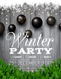 christmas, winter, holidays, winter party
