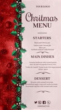 Christmas,Christmas menu