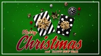 Greetings,Christmas,Christmas party,event Ekran reklamowy (16:9) template